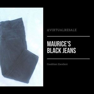 Maurice's Black Jeans